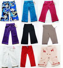 NWT Girls Pants Leggings Carters Gymboree  NEW 3m 12m 18m 24m 2t 3t 4t pink red