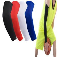 Gear Basketball Elbow Pads Elastic Sports Arm Long Sleeve Guard Protector 1pc