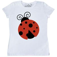 Inktastic Ladybug (Ladybird, Lady Beetle) With Dots - Red Women's T-Shirt Bug In