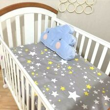 Baby Crib Fitted Sheet 100% Cotton Infant Bed Mattress Cover Baby Bedding Set