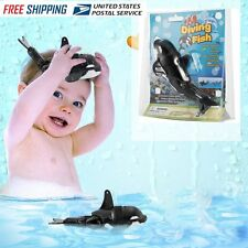 Children Bath Toy Whale/Dolphin/Fish Gift Diving Fish Swims like Real Fish EW
