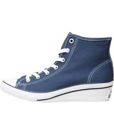 Converse Womens CT All Star Hi-Ness Wedge Trainers Navy/White