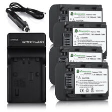 7.4V 1000mAh NP-FH50 Battery + Charger For Sony NP-FV70 NP-FP50 NP-FV100 NP-FH60