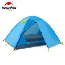 Double Door Beach Tent Camping Dome 3 Person With Mat NH Double Layer Waterproof