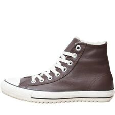 Converse CT All Star Hi Street Leather Trainers Burnt Umber