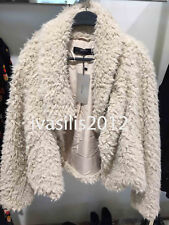 ZARA WOMAN TEXTURED JACKET WITH WRAPAROUND COLLAR BEIGE XS-XXL REF. 6318/230