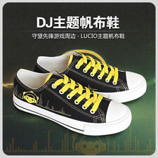 COSPLAY Overwatch Flat Bottom Men Women Leisure Sports Shoes HOT OW Canvas Shoes