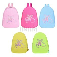 Girls Kid Embroidered Ballet Dance Bag Luggage Bag HandBag Tote Bag Shoulder Bag