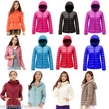 Winter Women Down Cotton Parka Lady Duck Down Hooded Coat Jacket Outerwear