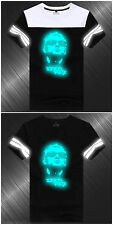 Linkin Park Band Black&White Reflective Short Sleeve T-Shirt Jacket Summer Sport