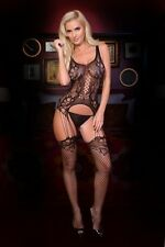 Women Sexy All In One Skin Tight Lingerie Fishnet Bodystocking One Size 818JT137