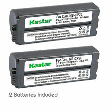 Kastar Battery Charger Canon SELPHY CP-400 CP-710 CP-730 CP-770 CP-900 CP-910