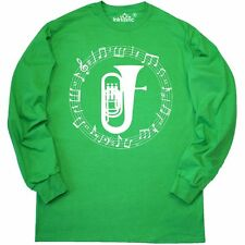 Inktastic Tuba Music Marching Band Camp Long Sleeve T-Shirt Player Instrument
