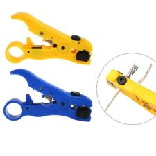 STP UTP Cat6 Cat5 Wire Coaxial Stripping Tool Flat/Round Stripper Cutter Cable