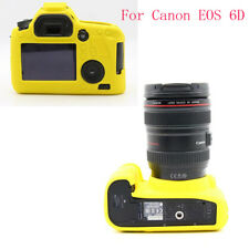 Sofe Silicone Rubber Protective Camera Body Cover Case Skin For Canon EOS 6D
