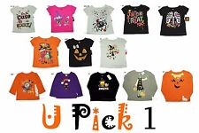 Halloween T Shirt Girls Top Tee add to Outfit costume 1st Holiday Party Cute Fun