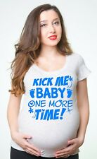Baby Boy Gender reveal party T-shirt maternity T-shirt Pregnancy top Tee Shirt