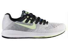 NEW MENS NIKE AIR ZOOM STRUCTURE 20 RUNNING SHOES TRAINERS BLACK / BARELY VOLT
