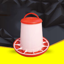 Quail Feeder Drinker Chick Plastic Hen Chicken Robust Poultry Food 1 Pcs