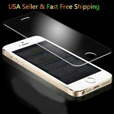 Tempered Glass Round Edged Screen Protector Moblie Cell Phones USA Ship fast