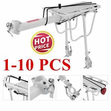 Aluminum Alloy Rear Bicycle Pannier Rack Carrier Bag Luggage Cycle Bike 1-10 PCS