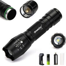 20000LM XML T6 5-Mode Waterproof Zoomable LED Flashlight 18650Battery Torch Lamp