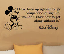 """Disney Mickey Mouse I HAVE BEEN UP wall quote vinyl wall art decal sticker 35"""" W"""