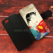 Superman Wallet iPhone cases Painting Samsung Wallet Leather Superman Phone Case