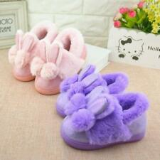 Children Winter Slippers Cute Home Cotton Shoes Kids Warm Plush Slippers New