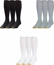 Gold Toe Men's Ultra Tec Over the Calf Athletic Socks, 3 Colors, 3 Pairs