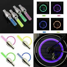 Motion Activated LED Glow  Bike Car Motorcycle Tire Valve Caps Wheel color LED