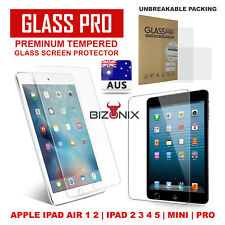 Tempered Glass Screen Protector for Apple iPad Pro 9.7 12.9 Air 1 2 Mini 1 2 3 4