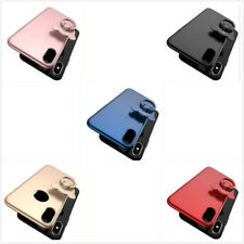 Ring Bracket Frosted Hard Case Cover Skin For iPhone 6/6S/7/8  Plus