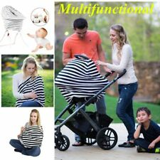 Multi Use Stretchy Newborn Infant Nursing Cover Baby Car Seat Canopy Cart CovEW
