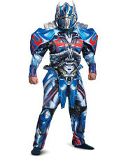Mens Deluxe Transformers The Last Knight Optimus Prime Costume