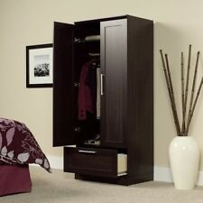 Armoire Wardrobe Closet Tall Cabinet Storage Clothes Bedroom Organizer Furniture