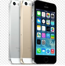 """Apple iPhone 5S- 16 32 64GB GSM """"Factory Unlocked"""" Smartphone Gold Gray Silver!!"""