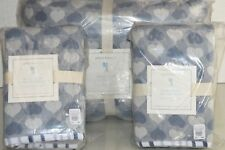 NEW Pottery Barn Kids 3 Pc SET HAZEL HEART Quilted Quilt Full Queen Euro Shams