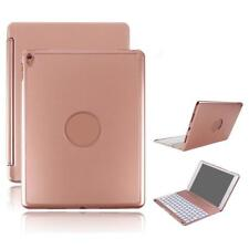 Wireless Bluetooth Keyboard 7 Color Backlit Case Cover for iPad Air iPad 9.7