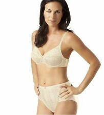 Playtex Tonique Contour Decorated Lace Brief Ivory Size Small - Box019 A SSS