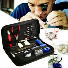 16pcs Watch Repair Tool Kit Link Remover Spring Bar Tool Case Opener Set Tool