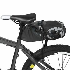 8/10L Bicycle Rear Rack Bag Pack Pannier Trunk Bag Storage Cycle Bike Waterproof