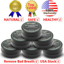30g US STOCK TEETH WHITENING POWDER COCONUT ACTIVATED CHARCOAL 100% NATURAL