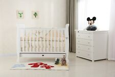 BRAND NEW SLEIGH COT PACKAGE - COT, CHEST OF DRAWER & MATTRESS