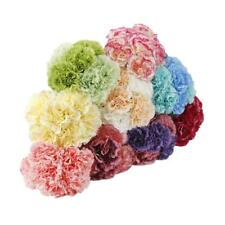 Artificial Fake Bouquet Silk Carnation Flower Bunch Wedding Party Home Decor