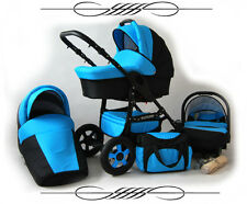 Baby Pram Pushchair Future 3in1 Stroller Buggy Travel System/ seat car FREEBIES!