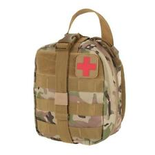 Outdoor Utility Tactical Pouch Medical First Aid Kit Patch Bag Molle Cover...