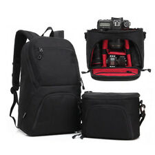 2in1 Camera Bag Backpack DSLR Case Carry Waterproof Canon Tripod Carrying Laptop