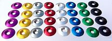 Aluminum Washers  33mm O.D. x 8mm I.D.  Anodized   for 8mm Flat Head