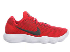 NEW MENS NIKE REACT HYPERDUNK 2017 LOW BASKETBALL SHOES TRAINERS UNIVERSITY RED